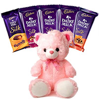 Place Order for 6 Cadbury Dairy Milk Silk Chocolate to Send Diwali Gifts in India