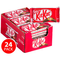 Online Delivery of Rakhi Chocolate in India that includes 24 Nestle Kitkat Bars Box 360g on Rakhi