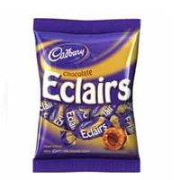 Online Rakhi Delivery to India contains Pack of Eclairs Toffee
