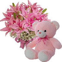 Send Valentine Teddy to India