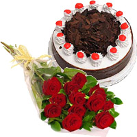 Eggless Cakes to India - Flowers to Hyderabad