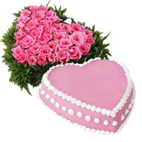 Online Valentine's Day Cakes to India : Flowers to India