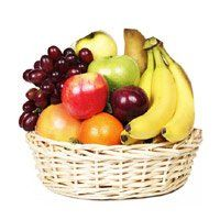 Birthday Gifts Delivery to Panvel. Deliver 2 Kg Fresh Fruits Basket to Panvel