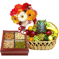 Send Online Dry Fruits and Gifts to India