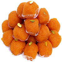 Diwali Gifts to Raipur. 1 kg Motichoor Ladoo Sweets to India