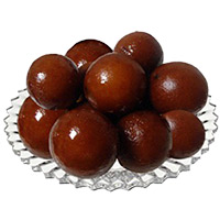 Diwali Gifts Delivery in India. 500 gm Gulab Jamun Sweets in India