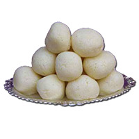 500 gm Rasgulla. Diwali Sweets Gifts to India