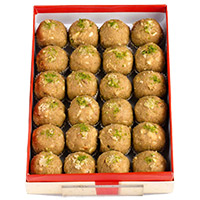 Same Day Diwali Gifts Delivery to India. 1 kg Atta Laddoo