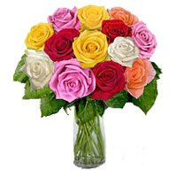 Deliver Flower to India : Rose Day Flowers to India