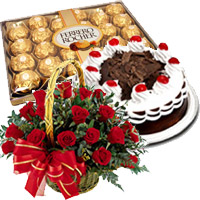 Valentine Flowers to India : Send Chocolates to Hyderabad