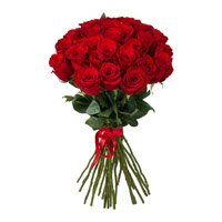Diwali Flowers to India. Red Roses Bouquet 36 Flowers in India