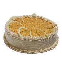 Send 500 gm Butter Scotch Cake to India on Rakhi