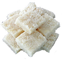 500gm Coconut Barfi Sweets to Bhuj. Diwali Gifts to India