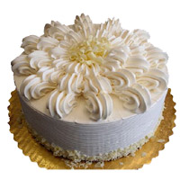 Send Rakhi with 3 Kg Vanilla Cake From 5 Star Bakery. Cake in India