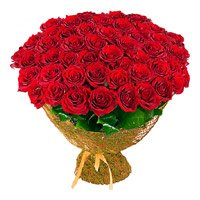 Same Day Mother's Day Flower Delivery in India. Red Roses Bouquet 100 Flowers to Goa