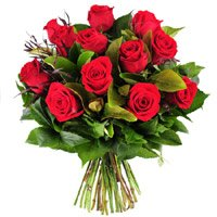 Online Mother's Day Flowers Delivery in India. Send Red Roses Bouquet 10 Flowers to India