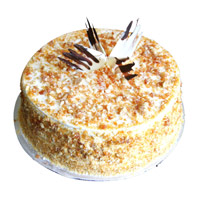 Deliver Rakhi 1 Kg Butter Scotch Cake in India Online