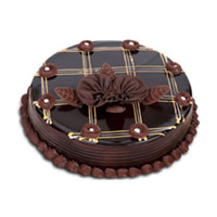 Deliver Rakhi 1 Kg Chocolate Cake in India
