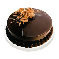 Online 500 gm Chocolate Truffle Cakes to India on Rakhi