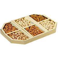 Send 3 Kg Fancy Dry Fruits with Rakhi Gifts to India