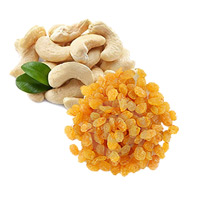 Rakhi GiftsbDelivery to India and 500gm Cashew and 500gm Raisins