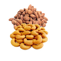 Send Rakhi Gifts to India and 500gm Roasted Cashew and 500gm Roasted Almonds