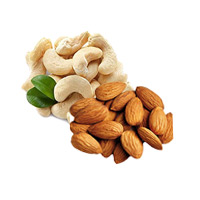 Online Rakhi Gifts Delivery to India and 500gm Cashew and 500gm Almond