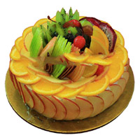 Deliver Rakhi Cakes to India with 1 Kg Fruit Cake From 5 Star Bakery