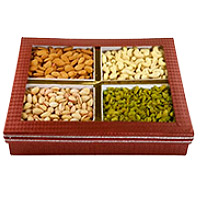 Order Rakhi with 2 Kg Mixed Dry Fruits to India With India Online Gifts