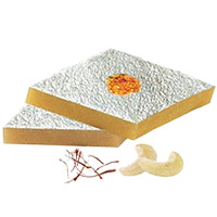 500 gm Kaju Katli with Rakhi