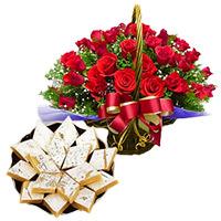 Rakhi Flowers to India