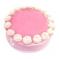 Send 2 Kg Strawberry Cakes to India Online on Rakhi