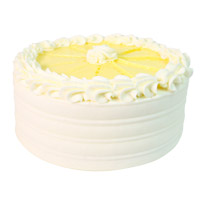 Rakhi Cake Delivery to India consist of 1 Kg Vanilla Cake From 5 Star Bakery