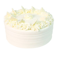 Online Cake Delivery in India with 2 Kg Vanilla Cake From 5 Star Bakery on Rakhi
