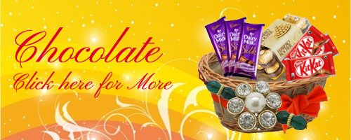 Rakhi Chocolate Delivery to India