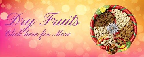 Rakhi Dry Fruits to India