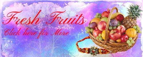 Rakhi Fruits to India
