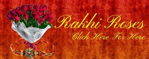 Rakhi Roses to India