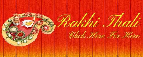 Rakhi Thali to India