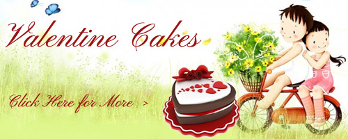 Valentine's Day Cakes to Bangalore